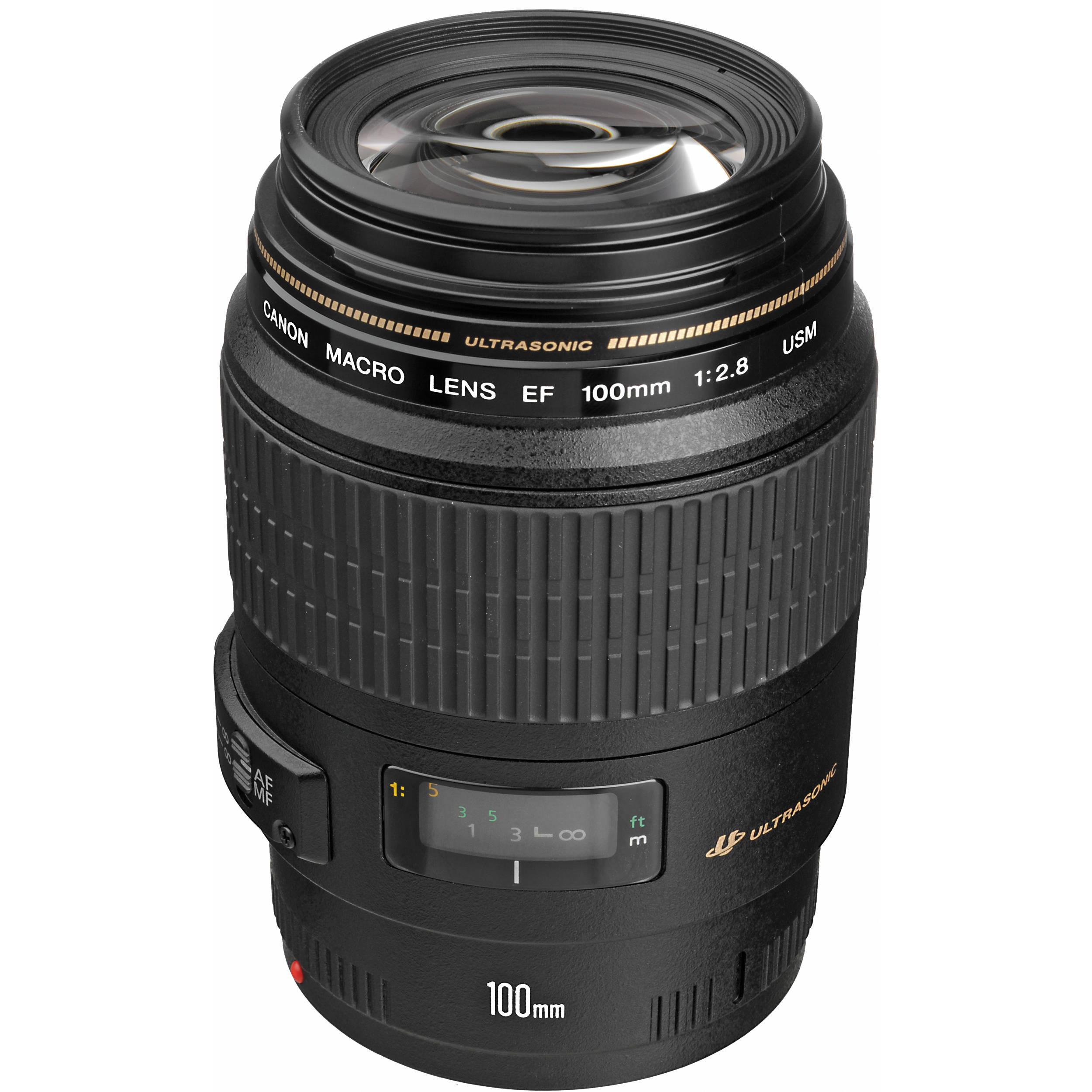 Canon 100mm f/2.8 Macro USM - LensAuthority
